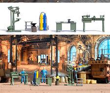 Busch 1185 Handwerker - Werkstatt, H0 Modellwelten Bausatz 1:87