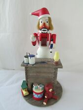 Vintage Flambro Emmett Kelly Jr. Nutcracker Figure 9693 Santa Emmett Kelly