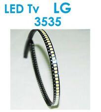 LATWT391RZLZK LED 3535 RETRO-ECLAIRAGE TV LG 2W 6V BLANC FROID 10pcs