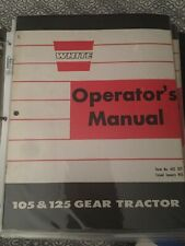 Town And Country White Oliver Garden tractor  Manual  105 125 Gear