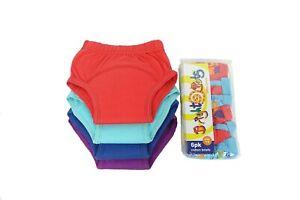 BrightBots Boys Potty Training Set   4 Training Pants & 6 Briefs - pack offer