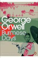 Burmese Days (Penguin Modern Classics) by George Orwell, NEW Book, FREE & Fast D