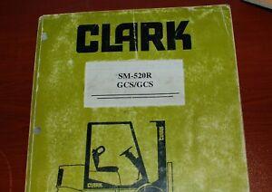 CLARK GCS GPS Forklift Owner Service Repair Maintenance Manual shop owner book