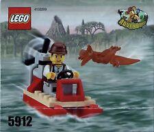 Lego Adventurers # 5912 Hydrofoil - Bauanleitung (keine Steine!)