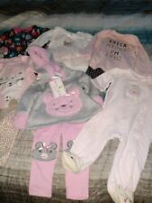 Baby girl clothes 6 months lot.  The new outfit is a big 3-6 month