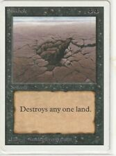 SINKHOLE Unlimited Common MTG NM ENG Magic collection 1st hand 1ere Main