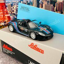 Schuco 1/64 Porsche 918 Spyder Martini Black  Hong Kong Limited Edition  4520210