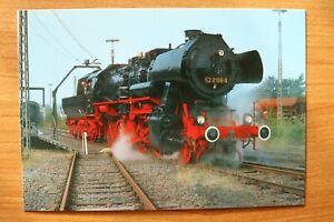 E2) Eisenbahn Zug Treysa 1990 Dampf-Güterzuglokomotive 52 8106-8 Schwalm Knüll