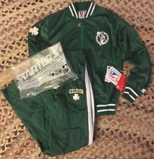 VTG 90's Starter NWT's Boston Celtics NBA Full Tracksuit Men's SZ S NIB Rare
