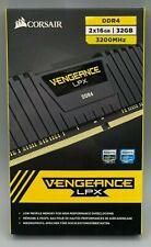 Corsair Vengeance LPX 32GB Ram (2x16GB) PC4-25600 (DDR4-3200MHz) Memory Kit