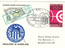 Germany 1972 Apollo Landing Olympic Year cover