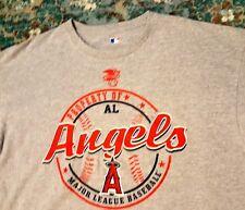 PROPERTY OF AL ANGELS XL T- Shirt GRAY MLB Los Angeles