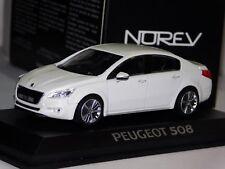 PEUGEOT 508 WHITE NOREV 475800 1/43
