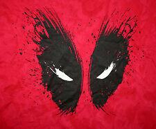 Marvel Comics Classic Dead Pool Deadpool Red T-Shirt New LG Faded Look 2XL