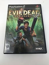 Evil Dead Regeneration Ps2 Sony PlayStation 2, 2005 Complete Tested And Working