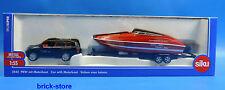 SIKU 2543 / 1:55 SUPER / voiture particulière avec bateau à moteur