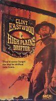 High Plains Drifter (VHS, 1995) Clint Eastwood