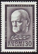 Sibelius Composer In Memoriam Finland 1957 MNH
