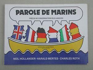 Parole de marins, précis de conversation en 6 langues - Hollander, Mertes & Roth