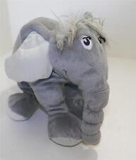 "Dr Seuss Horton HEars a WHo Stuffed Plush Elephant 2007 Manhattan Toy 9"""