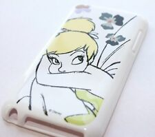 iPod Touch 4th Gen - RUBBER GUMMY GEL SKIN CASE COVER Disney Yellow Tinkerbell
