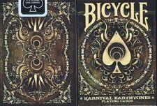 CARTE DA GIOCO BICYCLE KARNIVAL EARTHTONE9,poker size