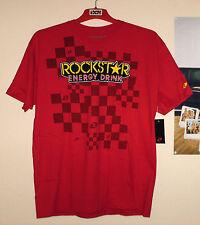 One Industries t-shirt Rockstar Energy Cross nuevo enduro quad MTB rojo L Suzuki RM