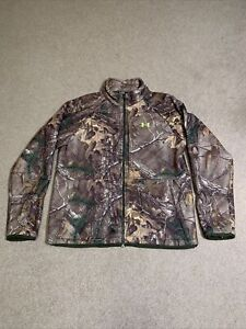 Under Armour Scent Control Coldgear Infrared Rut Camo Jacket Realtree Xtra XL