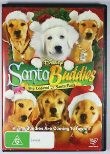 Santa Buddies The Legend Of Santa Paws DVD FREE POST