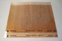 BMW 3er E21 315 316 318 318i 320 320i 323i Teilekatalog Microfich Stand 12/1988