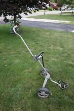 VINTAGE BAG BOY PLAYDAY Cast Aluminum Folding Golf Bag Pull Cart Caddy