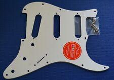 Fender Squier Vintage Modified 70s Strat PICKGUARD Guitar White 3 Ply