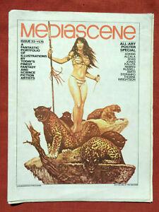 Mediascene Issue 33 September October 1978 Art Poster Special Wrightson Steranko