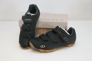 New Men's Giro Privateer R HV Mountain Bike Shoes 39 6.5 2-Bolt Black MTB Wide