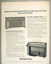 Magnavox Electronic Organ PRINT AD - 1962 ~~ Astro-Sonic Stereo
