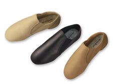 Revolution Premium Pull On Dark Tan Jazz Boot # 6606 Size 2.5