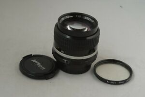 Nikon Manual Focusing 85mm f/2.0 Ai-s Lens in Exc+ Cond