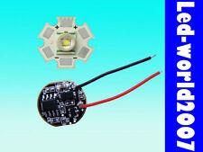 Cree Xr-e Q5 3w Blanco Alta Potencia Led + 5-el modo del controlador de alimentación Dimmer 3.7 v 700ma