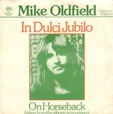 """MIKE OLDFIELD – In Dulci Jubilo (1975 VINYL SINGLE 7"""" DUTCH PS)"""