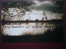POSTCARD HUNTINGDONSHIRE FERRY NEADOWS LAKE - SUNSET