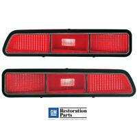 1963 63 Chevy Impala Parking Lamp Light Lenses// Amber Pair 2 Pieces IMPL63-2