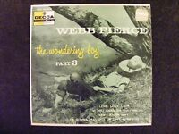 Love, Love, Love/If You Were Me +2 by Webb Pierce (Decca ED 2364) PS/EP