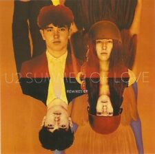 "U2 'SUMMER OF LOVE"" REMIXES EP - 5 TRACK BRAZILIAN CD PROMO"