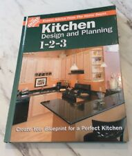 Home Depot Hardcover Kitchen Design Book Like New