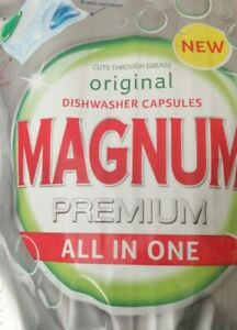 MAGNUM PREMIUM dishwashing Capsules ALL in ONE ( Select from 4 to 20 tablets)