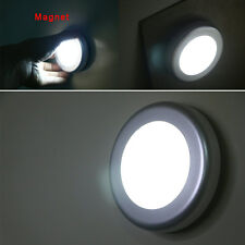 Motion Sensor Activated Night Light 6 LED Closet Corridor Cabinet Induction Lamp