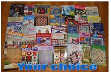 Quilting Instructional Booklets/Books,Asn,White Birches,more- Your Choice - new