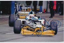 Tom Kristensen Hand Signed Formula 1 12x8 Photo F1.
