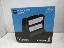 New listing Hyperikon Led Wall Pack Light 80W 5000K HyperWr80-502