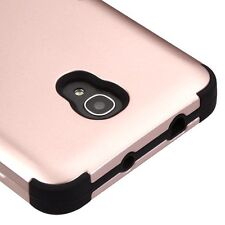 "Alcatel Fierce 4 / Pop 4+ 5.5"" / One Touch Allura - HYBRID PHONE CASE ROSE GOLD"